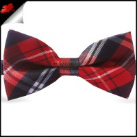 Black Plaid Bow Ties