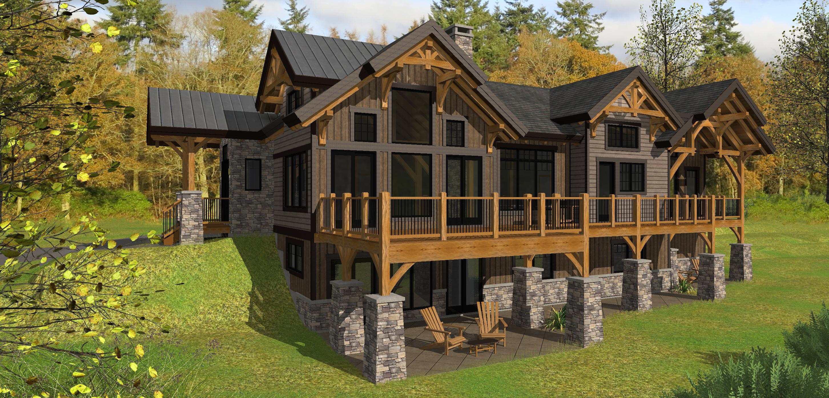 Bear Rock Timber Frame Design