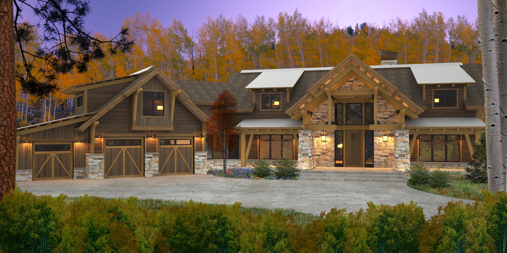 Elk River Timber Frame Design
