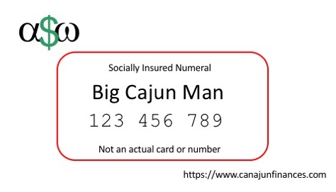 Fake SIN Social Insurance Number