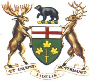 Coat of Arms of Ontario
