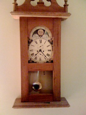 A beautiful hand made clock