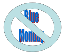 No Blue Monday