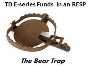 TD E-series RESP bear trap