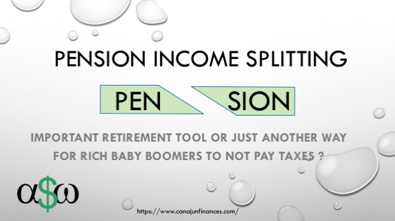 Pension Splitting