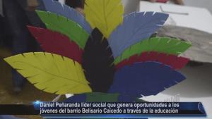 Daniel Peñaranda Líder Social del barrio Belisario Caicedo