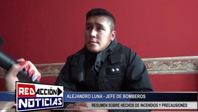 Photo of Redacción Noticias |  ALEJANDRO LUNA JEFE DE BOMBEROS – LAS HERAS SANTA CRUZ