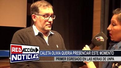 Photo of Redacción Noticias |  UNPA – PRIMER EGRESADO DE TECNICATURA EN PETROLEO – LAS HERAS SANTA CRUZ