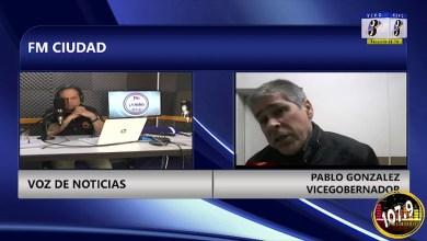 Photo of Redacción Noticias |  VICEGOBERNADOR GONZALEZ PABLO – LAS HERAS SANTA CRUZ