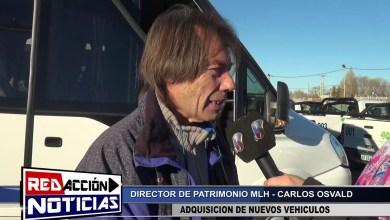 Photo of Redacción Noticias |  NUEVO ADQUISICIÓN DE MÓVILES MLH – LAS HERAS SANTA CRUZ