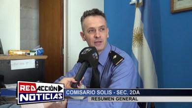 Photo of Redacción Noticias    LAS HERAS SANTA CRUZ-  SOLIS: JEFE DE LA SECCIONAL SEGUNDA HACE UN RESUMEN GENERAL