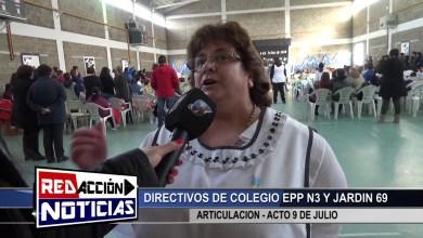 Photo of Redacción Noticias |  EPP 3 Y JARDIN 69 DIRECTIVOS – LAS HERAS SANTA CRUZ