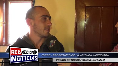 Photo of Redacción Noticias |  DAMNIFICADO POR INCENDIO DE VIVIENDA – LAS HERAS SANTA CRUZ