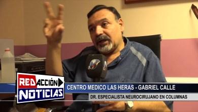 Photo of Redacción Noticias |  CENTRO MEDICO LAS HERAS – SANTA CUZ – NEUROCIRUJANO GABRIEL CALLE ESPECIALISTA EN COLUMNAS