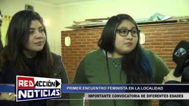 Photo of Redacción Noticias |  1ER ENCUENTRO FEMINISTA – LAS HERAS SANTA CRUZ