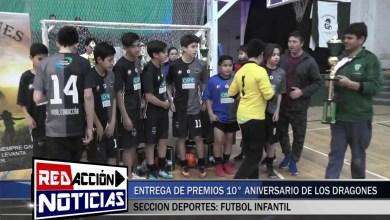 Photo of Redacción Noticias |  ENTREGA DE PREMIOS LOS DRAGONES 10 AÑOS – LAS HERAS SANTA CRUZ