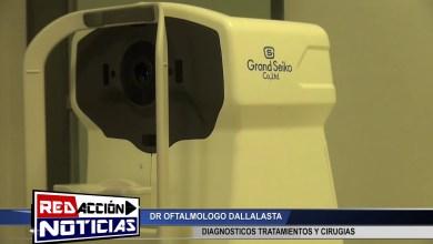 Photo of Redacción Noticias |  OFTALMOLOGO DALLA LASTA – LAS HERAS SANTA CRUZ