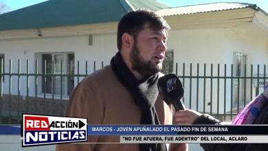 Photo of Redacción Noticias |  FUE APUÑALADO DENTRO DEL LOCAL NOCTURNO – LAS HERAS SANTA CRUZ