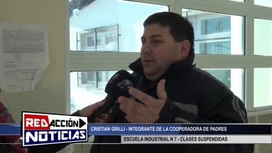 Photo of Redacción Noticias |  CRISTIAN GRILLI – RECLAMO – ESCUELA INDUSTRIAL Nª7 – LAS HERAS – SANTA CRUZ