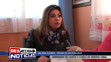 Photo of Redacción Noticias |  VALERIA GUZMAN  – HOGAR DE DIA – LAS HERAS SANTA CRUZ