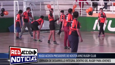 Photo of Redacción Noticias    HUGO ACOSTA – JORNADA DE DESARROLLO INFANTIL EN RUGBY – LAS HERAS SANTA CRUZ