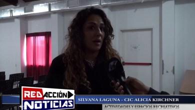 Photo of Redacción Noticias |  LAS HERAS – SANTA CRUZ  – SILVANA LAGUNA CIC ALICIA KIRCHNER