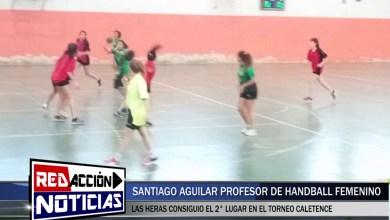 Photo of Redacción Noticias |  SANTIAGO AGUILAR – HANDBALL F. – COMPETENCIA EN CALETA OLIVIA – LAS HERAS SANTA CRUZ