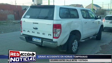 Photo of Redacción Noticias |  ACCIDENTE DE TRANSITO – LAS HERAS SANTA CRUZ