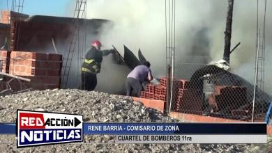 Photo of Redacción Noticias |  RENE BARRIA – CUARTEL DE BOMBEROS – LAS HERAS SANTA CRUZ