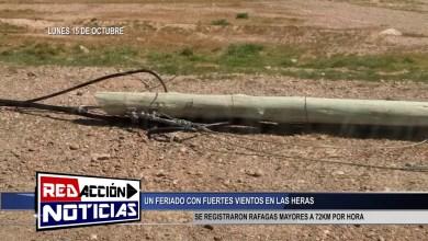 Photo of Redacción Noticias |  RAFAGAS DE MAS DE 72 KM – LAS HERAS SANTA CRUZ