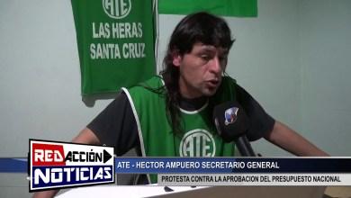Photo of Redacción Noticias |  ATE – PARO NACIONAL – LAS HERAS SANTA CRUZ