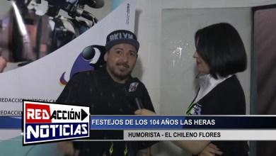 Photo of Redacción Noticias |  104 AÑOS LAS HERAS – CHILENO FLORES – LAS HERAS SANTA CRUZ