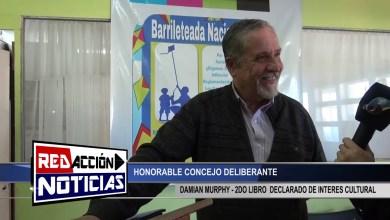 Photo of Redacción Noticias |  2do LIBRO DAMIAN MURPHY – LAS HERAS SANTA CRUZ
