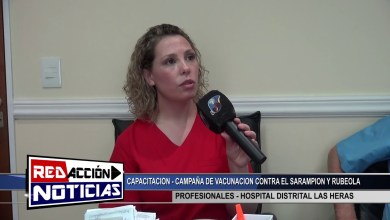 Photo of Redacción Noticias |  CAPACITACION RUBEOLA Y SARAMPION – LAS HERAS SANTA CRUZ