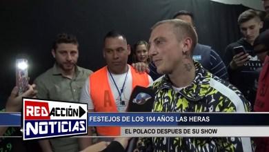 Photo of Redacción Noticias    EL POLACO DESPUES DEL SHOW – LAS HERAS SANTA CRUZ