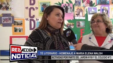 Photo of Redacción Noticias |  TE LITERARIO HOMENAJE A MARIA ELENA WALSH – LAS HERAS SANTA CRUZ