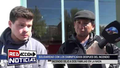 Photo of Redacción Noticias |  DAMNIFICADOS DEL INCENDIO – LAS HERAS SANTA CRUZ