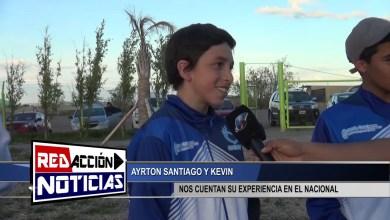 Photo of Redacción Noticias |  AYRTON KEVIN Y SANTIAGO – SU EXPERIENCIA EN EL NACIONAL