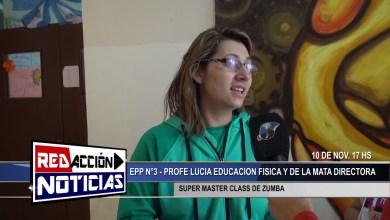Photo of Redacción Noticias |  ZUMBA SUPER MASTER CLASS – EPP N°3 – LAS HERAS SANTA CRUZ