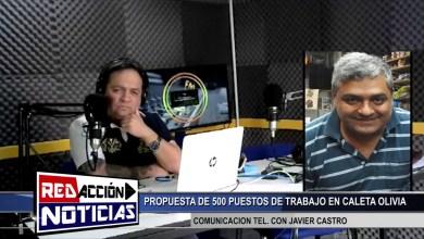 Photo of Redacción Noticias |  COM. TEL. CON JAVIER CASTRO – LAS HERAS SANTA CRUZ