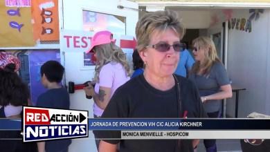 Photo of Redacción Noticias |  MONICA MENVIELLE – JORNADA DE PREVENCION VIH – LAS HERAS SANTA CRUZ