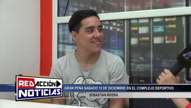 Photo of Redacción Noticias |  LAS HERAS – SANTA CRUZ -GRAN PEÑA SABADO 15 DE DICIEMBRE 2018 – SEBASTIAN RIVERA – LAS HERAS