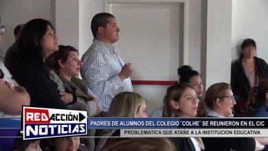Photo of Redacción Noticias |  REUNION EN EL CIC POR PROBLEMATICA EDUCATIVA EL COLHE – LAS HERAS SANTA CRUZ