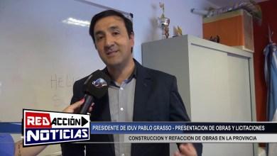 Photo of Redacción Noticias |  PABLO GRASSO – PRESENTACION DE OBRAS Y LICITACIONES – LAS HERAS SANTA CRUZ