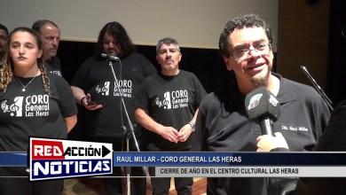 Photo of Redacción Noticias |  CIERRE DE AÑO CORO GENERAL LAS HERAS – LAS HERAS SANTA CRUZ