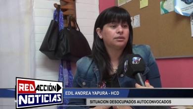Photo of Redacción Noticias |  EDIL ANDREA YAPURA – SITUACION DESOCUPADOS AUTOCONVOCADOS