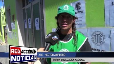 Photo of Redacción Noticias |  ATE   PARO Y MOVILIZACION – LAS HERAS SANTA CRUZ
