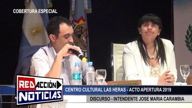 Photo of Redacción Noticias |  APERTURA DE SESION 2019 – CARAMBIA -LAS HERAS SANTA CRUZ 2/2