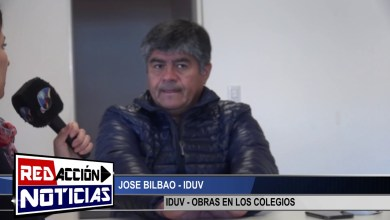 Photo of Redacción Noticias |  JOSE BILBAO – IDUV – REFACCIONES EN ESTABLECIMIENTOS – LAS HERAS SANTA CRUZ