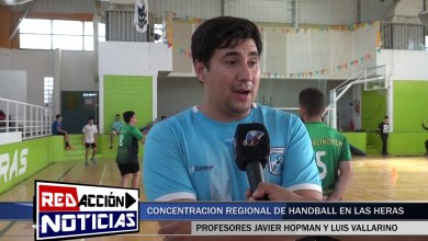 Photo of Redacción Noticias |  CONCENTRACION REGIONAL DE HANDBALL EN LAS HERAS SANTA CRUZ